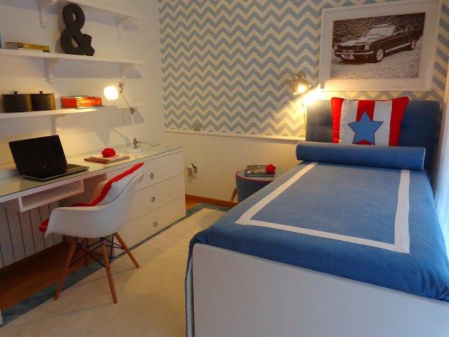 Projeto Novo: O quarto do Miguel.