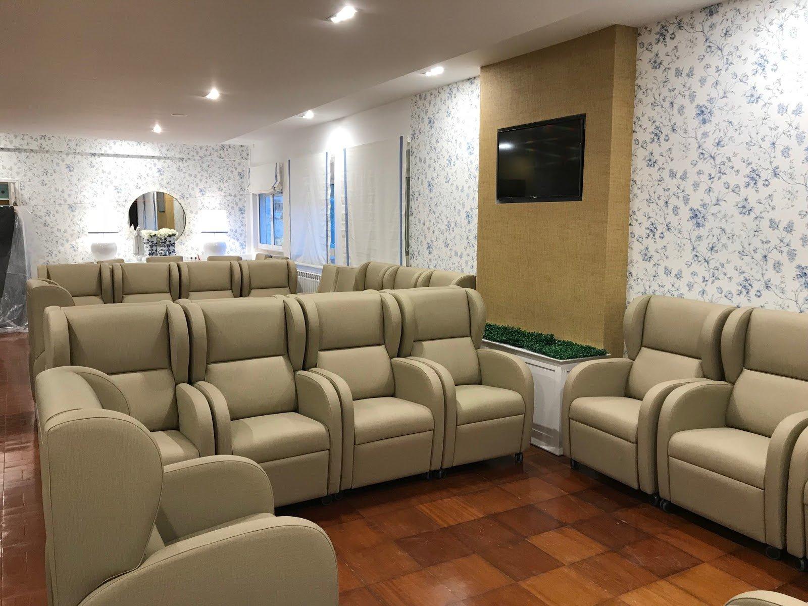 Read more about the article Projeto Novo: A sala de estar do Lar de 3ª Idade – Depois.