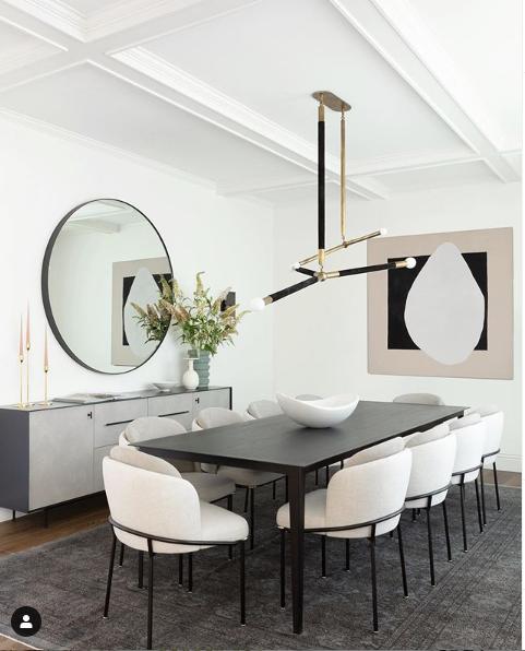 Estas cadeiras de sala de jantar, são a tendência que se segue!
