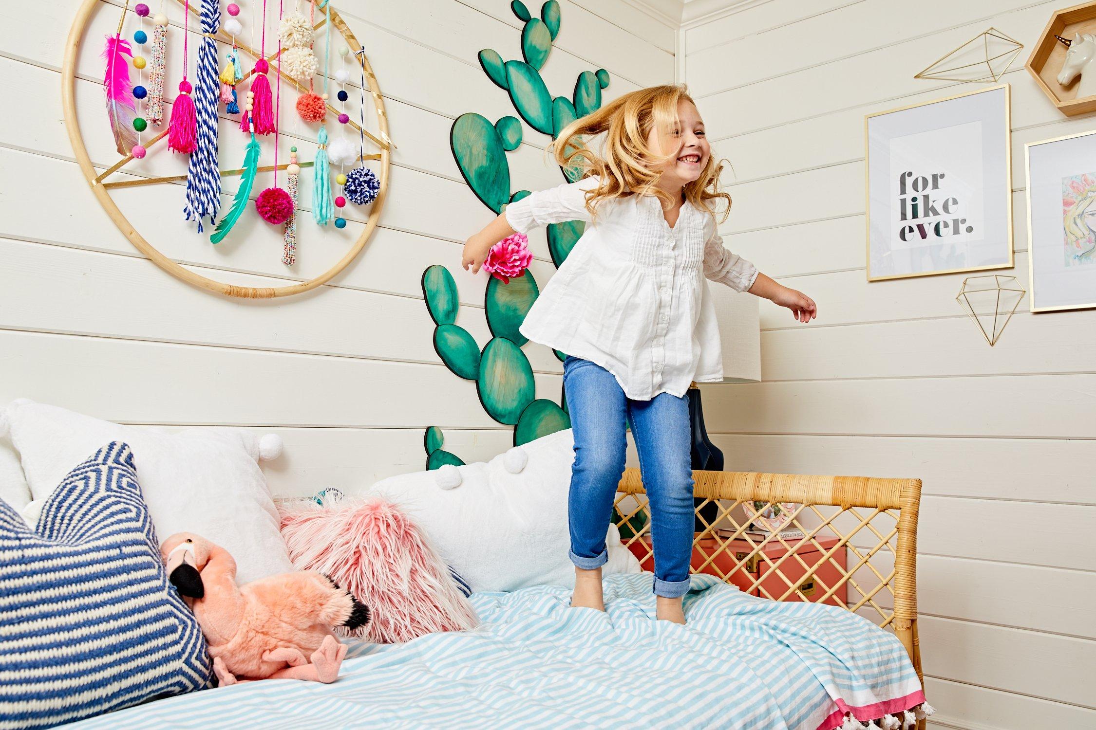 A infância num quarto!