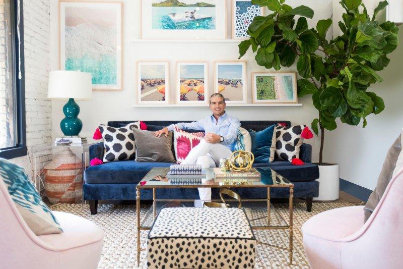 O escritório do designer Gray Malin!